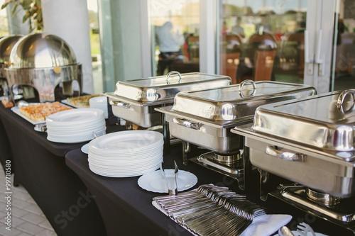 Fotografie, Obraz  catering food wedding