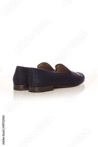Fotografie, Obraz  slippers to sleep on a white background