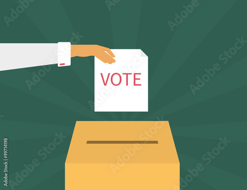 Voting Canvas-taulu