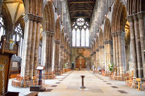 Glasgow cathedral aka High Kirk of Glasgow or St Kentigern or St Mungo..