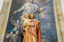 Blessed Saint Joseph With Holy...