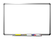 Whiteboard Mit Stifte Und Schwamm
