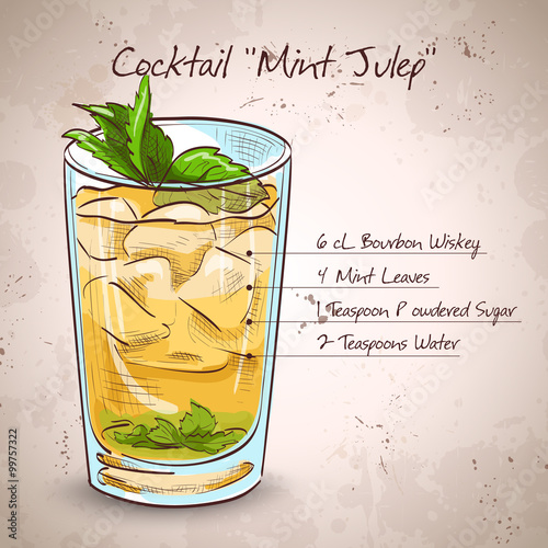 Photo Cocktail Mint julep