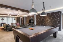 Interior Of A Luxury Living Ro...