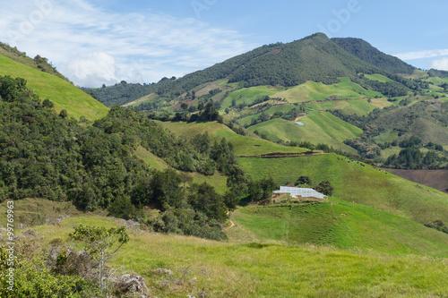 Fotografie, Obraz  Montañas de Colombia