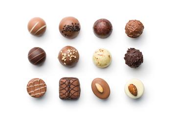 razne čokoladne praline
