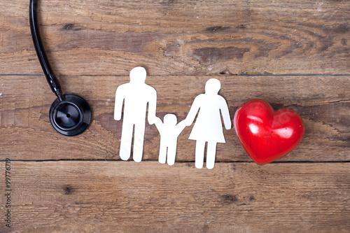 Fotografia  Familie und Gesundheit