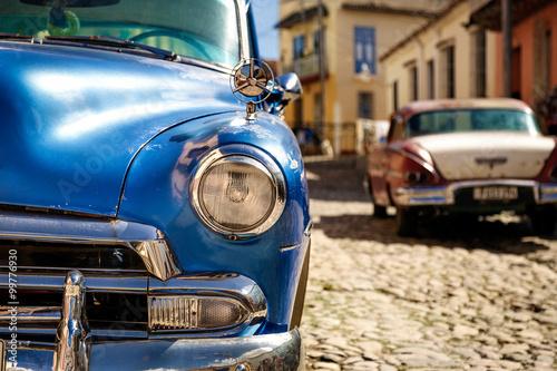Auto auf Kuba Obraz na płótnie