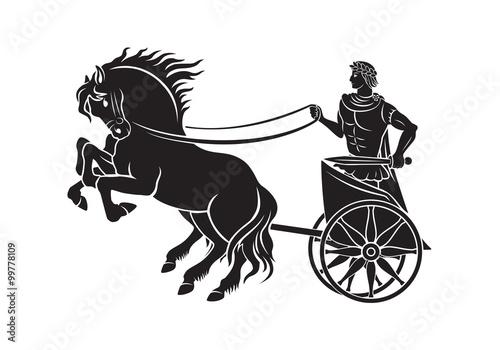 Fotografía  Caesar on horseback