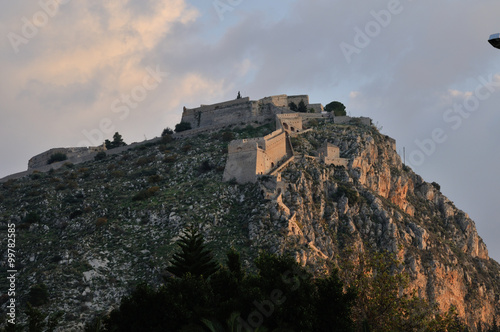 Castle of Palamidi, Nafplio - Greece Canvas-taulu
