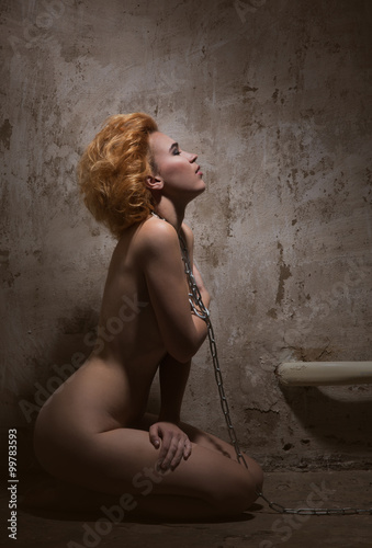 redhaired woman bondage Poster