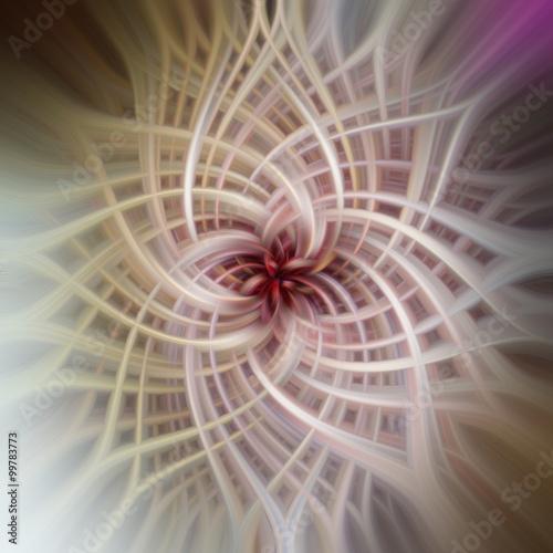 miekki-rozowy-kwiat-3d