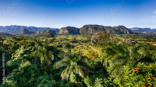 Poster de jardin Amérique du Sud Vinales Tal auf Kuba