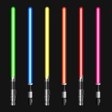 Vector Modern Light Swords On ...