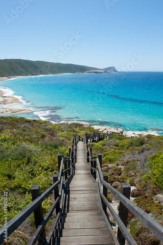 Beach Torndirrup National Park Albany Australia Tablou Canvas