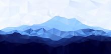 Triangle Low Poly Polygon Geom...