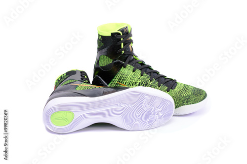 Fotografija  High-top classic Nike AF-1 basketball shoes sneakers
