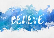 Believe Inspirational Message