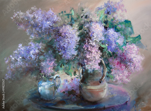lilac-painting