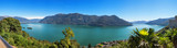 Fototapeta Landscape - Panoramic of Lake Maggiore