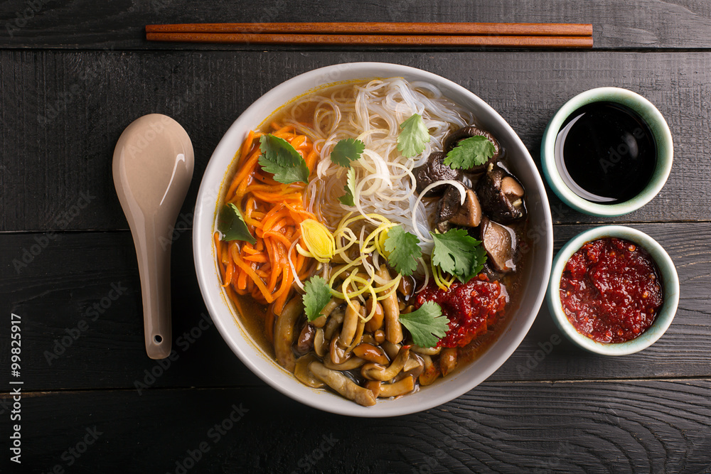 Photo  Traditional chinese soup