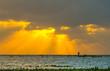 Sunrise at Thale noi lake