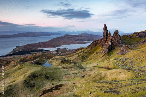Obraz na płótnie Scotland Old man of storr