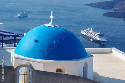 Papiers peints Santorini Santorini island in Greece