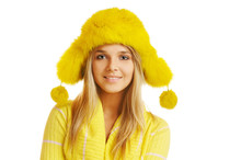 Girl In Furry Hat