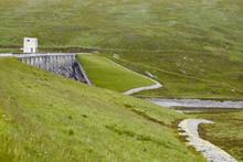 Glascarnoch Dam At Loch Glasca...