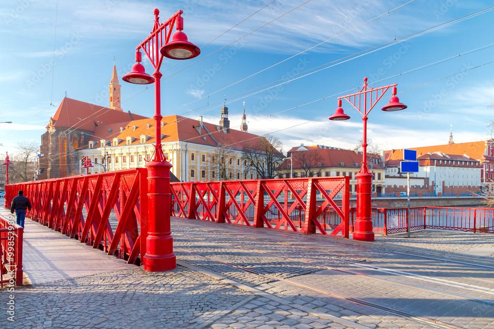 Fototapety, obrazy: Most Piaskowy we Wrocławiu