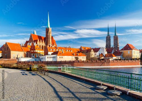 Obraz Wroclaw. Cathedral of St. John. - fototapety do salonu