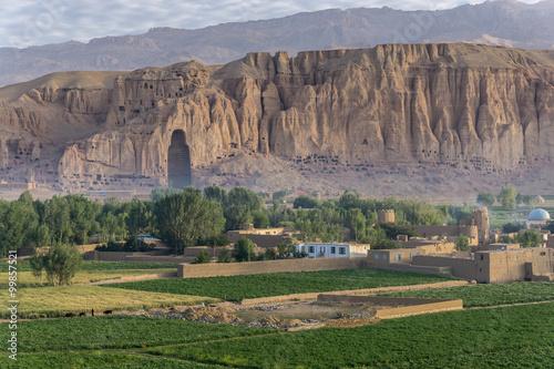 The Buddhas of Bamiyan Wallpaper Mural