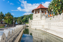 Buddha Tooth Temple In Kandy