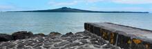 Landscape Of Rangitoto Island ...