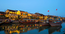 Yellow Buildings Of Hoi An , V...