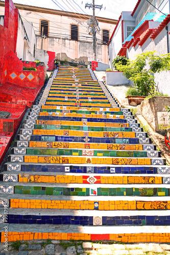 Cadres-photo bureau Rio de Janeiro Escadaria Selarón, Rio de Janeiro