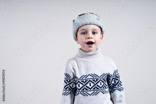 Fotografie, Obraz  wesoły chłopiec