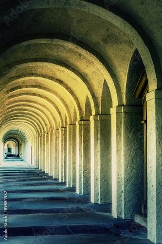 Mystic Ancient Stone Corridor Rome - 99884332