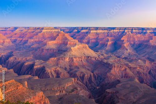Foto op Canvas Cappuccino Grand Canyon Sunrise from Mather Point