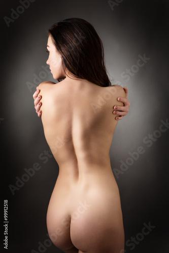 Zdjęcie XXL z tyłu kobiety