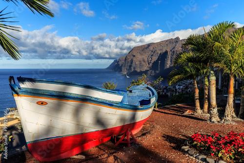 Fotografie, Obraz Los Gigantes, Puerto de Santiago, Tenerife