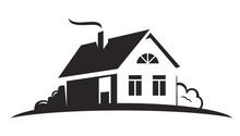 Vector Black House