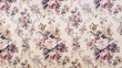 canvas print picture - Vintage floral pattern
