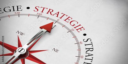 Fotografie, Obraz  Business und Marketing Strategie