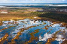 Tundra, Aerial Photography.