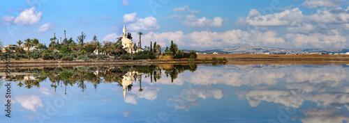 Foto auf Acrylglas Zypern panorama Hala Sultan Tekke in Cyprus