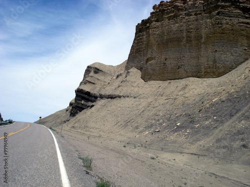 Fotografie, Obraz  La roccia dal volto umano. Utah, Stati Uniti