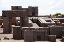Puma Punku Stone Blocks - Boli...