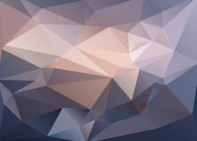 Abstract Vector Background Of Triangles Polygon Wallpaper. Web D